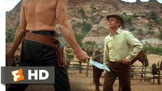 Butch Cassidy and the Sundance Kid (1/5) Movie CLIP - Knife Fight (1969) HD