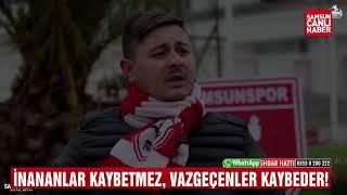 Yılport Samsunspor Taraftarlarından Anlamlı Klip