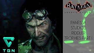 Most Wanted Riddler's Revenge Panessa Studios Riddler Trophies Part I