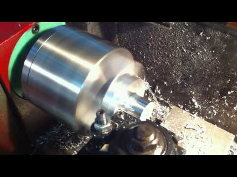 7x CNC lathe first real part