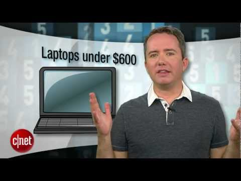 CNET Top 5 - Best Laptops Under $600
