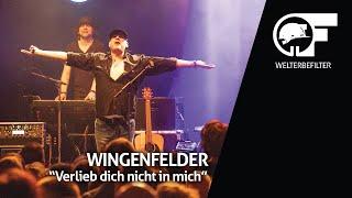 Wingenfelder - Verlieb dich nicht in mich (live durch den Welterbefilter)