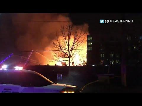 """The sky was all orange:"" witness describes Streetsville fire"
