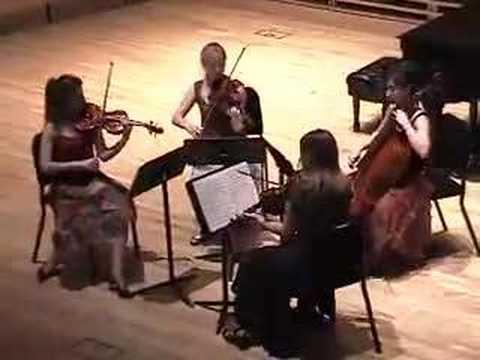 "Dvorák ""American"" Quartet, 3rd Movement"