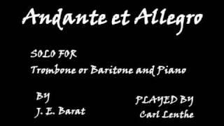 Andante et Allegro - J. E. Barat