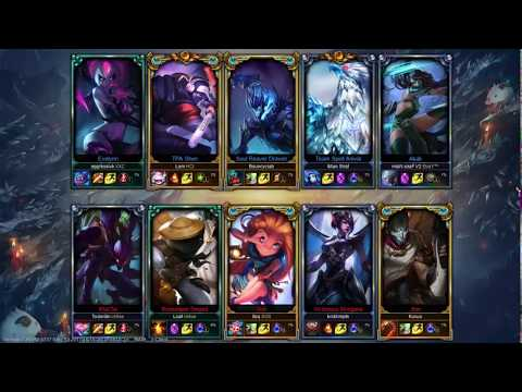 League of legend ranked challenger play full games new 2018 HD Part 1