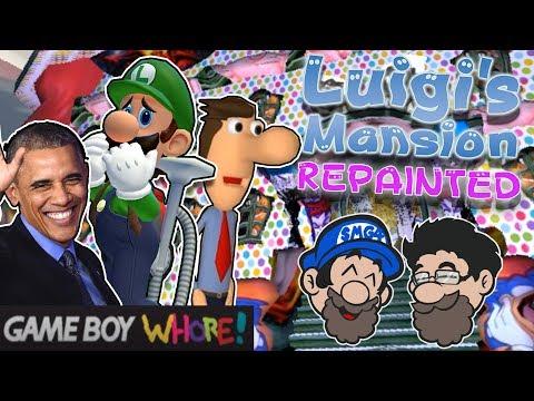 Luigi's Meme Purgatory || Luigi's Mansion REPAINTED