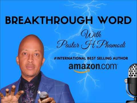 Week 22 - BREAKING THE SPIRIT OF STAGNATION: BREAKTHROUGH WORD