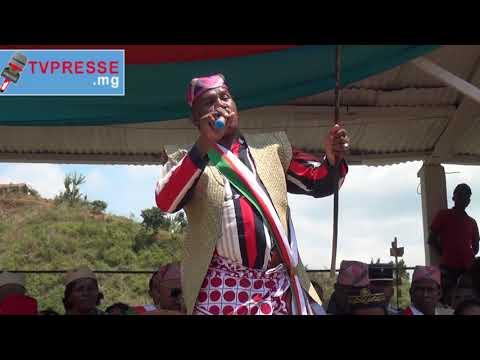 IKONGO: Nosalorana ny samboady ny filoha lefitry ny Antenimierampirenena voafidy tany Fianarantsoa.
