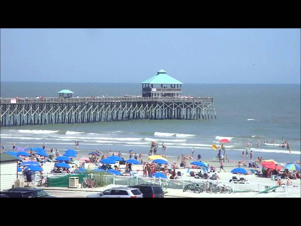 Folly beach sc fishing pier 2012 youtube for Folly beach fishing