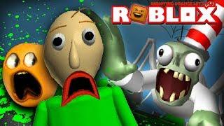 BALDI ottiene SLIMED su Dr. zombie Slime Slide!!! (Fastidioso Roblox arancione)