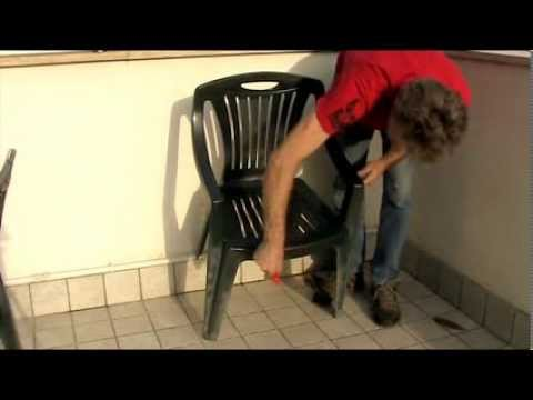 Rinnovare sedie in plastica con blacktraction rs - YouTube