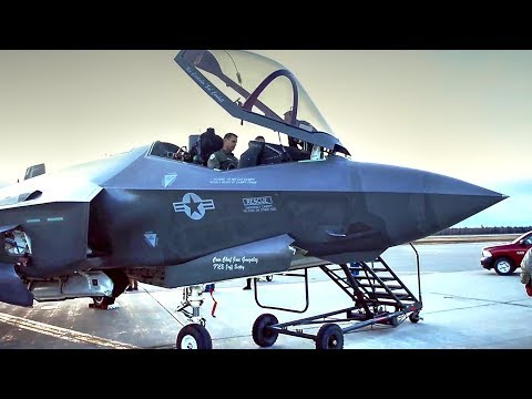 U.S. Air Force F-35A Lands In Alaska For Cold Weather Testing