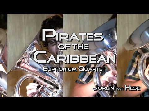 Pirates of the Caribbean-Euphonium Quartet