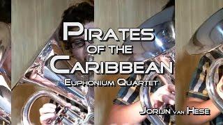 Pirates of the Caribbean-Euphonium Quartet
