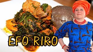 oyinbo cooking efo riro yoruba vegetable soup nigerian food