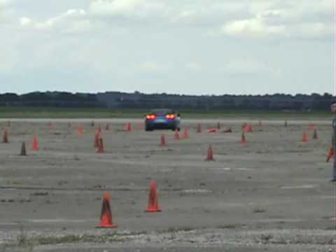 Bill Howell Vette at the Bowler Autocross