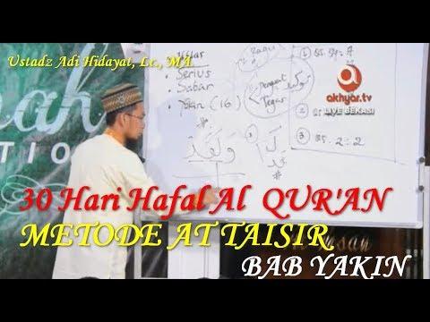 Quran At Taisir Ustadz Adi Hidayat 27