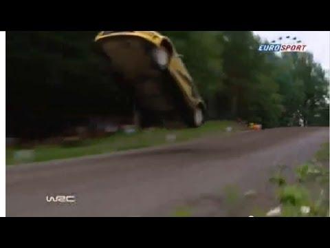 Ралли в Финляндии.Полёт Новикова!