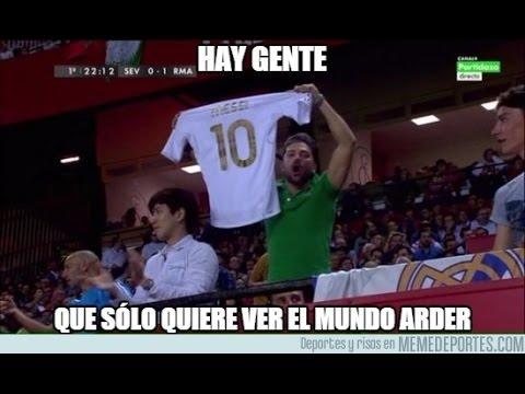 Sevilla vs Real Madrid 3-2 La Liga 2015 Memes (Sergio ramos , Cristiano Ronaldo)
