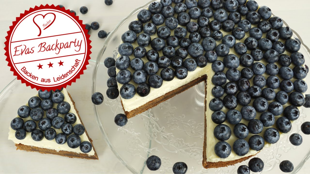 Blaubeer Schokoladen Torte Schokoladentorte Heidelbeer Torte