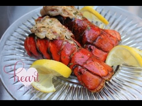 How To Grill Lobster Tails Best Tail Recipe I Heart Recipes You
