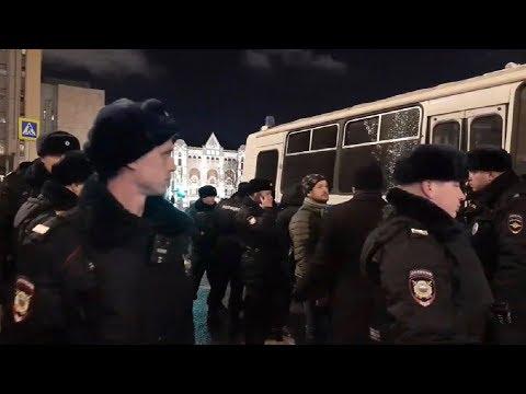 ПРОВОКАЦИИ⚡️ Огромная пикетная очередь у ФСБ РФ в Москве / LIVE 14.02.20