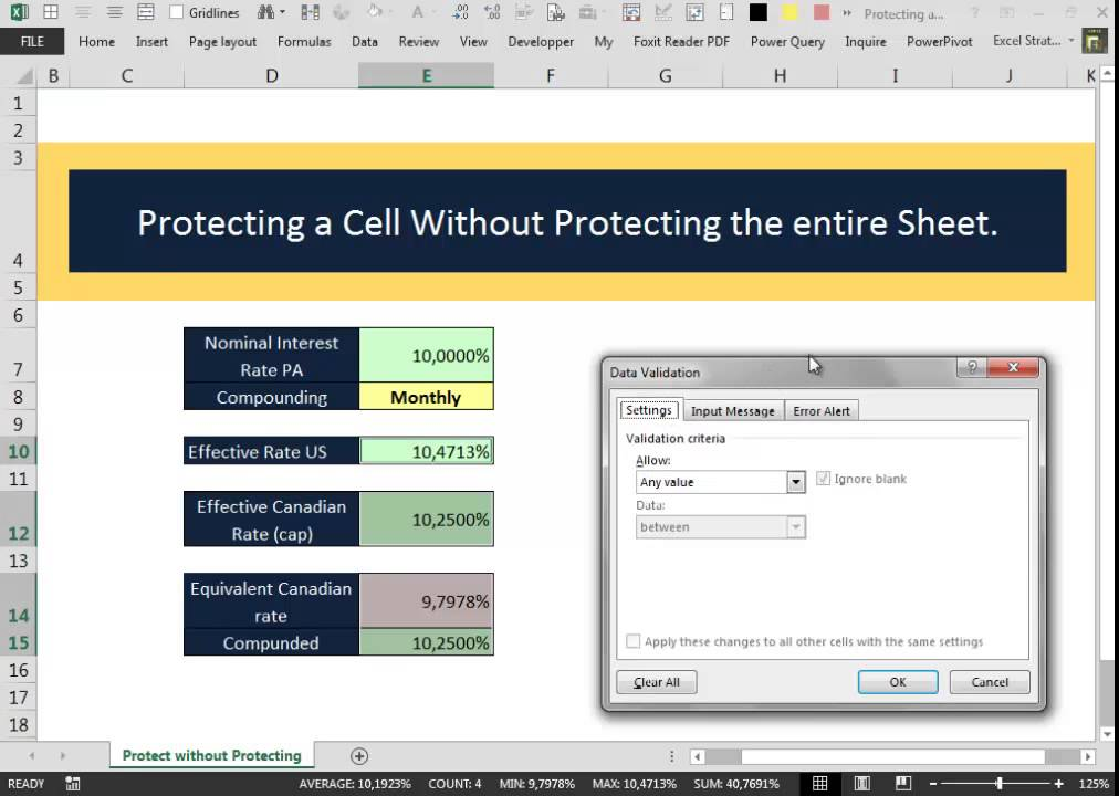 protect cells in excel 2010 from editing services