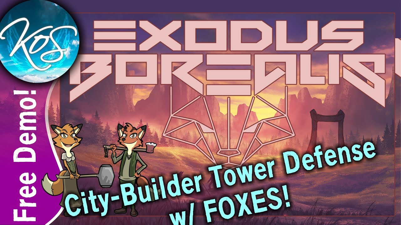 Exodus Borealis 01 - COLONY TOWER DEFENSE - FREE DEMO, First Look, Let's Play, Ep 1