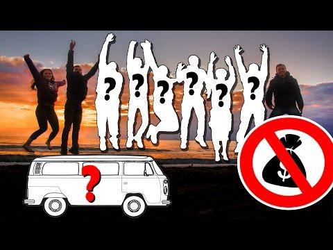 ROADTRIP mit FREMDEN / ohne Auto und fast ohne Geld? | REALLIFEMOBIL