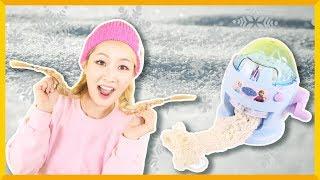 给怕冷的冰雪公主做一条温暖牌围巾   爱丽和故事 EllieAndStory