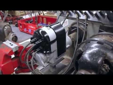 Ihc F 4 Magneto On Test Bench Youtube