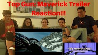 Top Gun: Maverick - Official Trailer (2020) REACTION | The Movie Family
