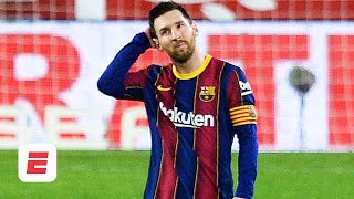 Espn fc's julien laurens and craig burley break down barcelona's 2-0 defeat in the first leg of their copa del rey semifinal tie vs. sevilla. says se...