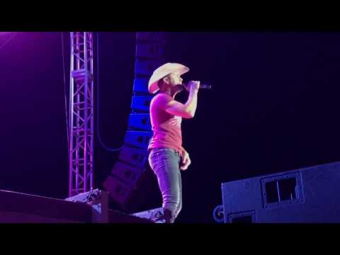 Dustin Lynch- Small Town Boy LIVE- ACM party for a cause '17