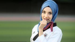 Kubra Dagli 💪 Hijab wearing Taekwondo champion