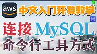 AWS 中文入门开发教学 - 连接MySQL - MySQL客户端工具 p.36【1级会员】