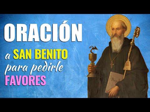 🙏 Oración Poderosa PARA PEDIRLE FAVORES a San Benito 🙇♀️