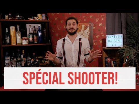 Cocktails Maison avec Enrick Grand'Maison : #3 SPÉCIAL SHOOTERS!