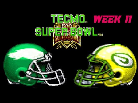 Septicor Played Tecmo Super Bowl Season 2 Week 11
