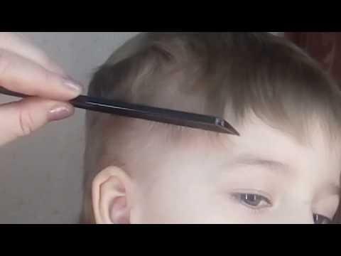 Как подстричь мальчика машинкой красиво видео для начинающих