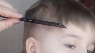 Как легко подстричь ребёнка или мужа  .       How to make a hair cut for a child or husband