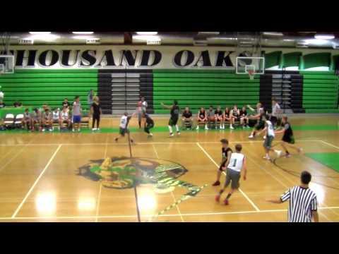 Thousand Oaks High School Boys Basketbal - Green & White Game - Frosh/Soph versus JV