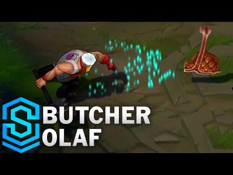 Butcher Olaf Skin Spotlight - League of Legends