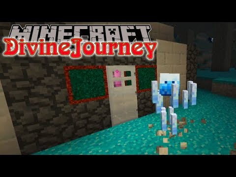 Minecraft | Divine Journey | #8 ICE CHARD SHOWDOWN