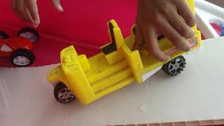 Car toys in water pool*  jumping video for kids like ##