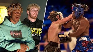 Download KSI & Logan Paul Rewatch The First Boxing Fight - 40 Days Mp3 and Videos