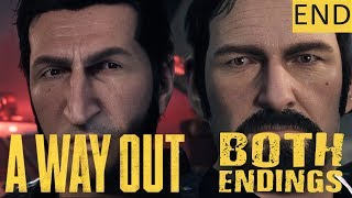 A WAY OUT - PART 9 (FINALE) - BOTH ENDINGS! - Co-Op Gameplay (1440p)