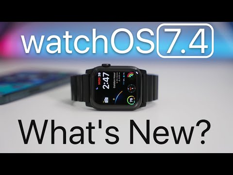 watchOS 7.4 is Out! - What's New?