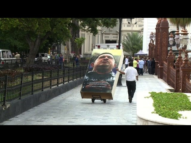 Chavez images disappear from corridors of Venezuela legislature